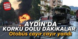 Aydın'da korku dolu dakikalar ! Yolcular ölümden döndü