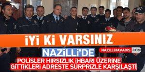 Nazilli'de polisler gittikleri adreste sürprizle karşılaştılar