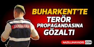 Buharkent'te PKK propagandası yapan kişi gözaltına alındı