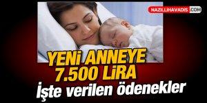 Çalışan anneye devlet yardımı