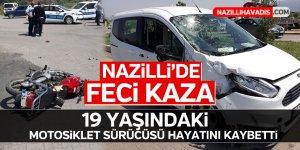 Nazilli'de hız kaza getirdi! 1 ölü!