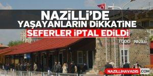 Nazilli'de yaşayanların dikkatine
