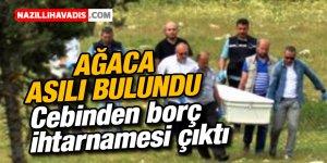 43 yaşındaki inşaat işçisi ağaca asılı halde bulundu