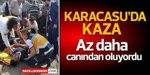 Karacasu'da kaza