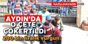 Aydın'da siber çete çökertildi