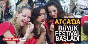 Atça'da büyük festival başladı
