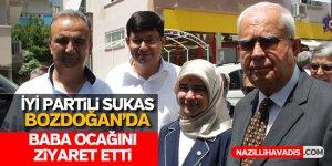 İYİ Partili Sukas, baba ocağı Bozdoğan'da seçim çalışmalarına başladı