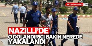 Nazilli'de dolandırdı, Denizli'de yakalandı