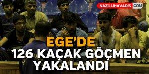 Ege'de kaçak göçmen operasyonu