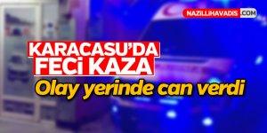 Karacasu'da feci kaza; 1 ölü, 1 yaralı