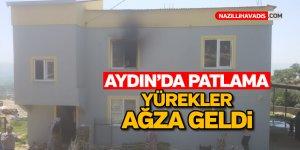 Aydın'da patlama