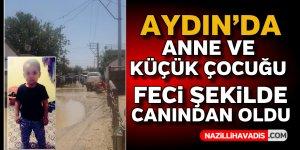 Aydın'da feci kaza ! 2 ölü