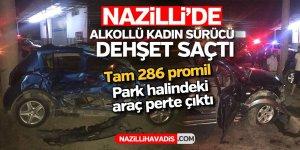 Kaza yapan kadın sürücü 289 promil alkollü çıktı