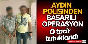 Aydın polisinden başarılı operasyon