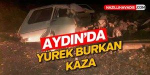 Aydın'da yürek burkan kaza