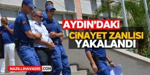 Aydın'daki cinayet zanlısı yakalandı
