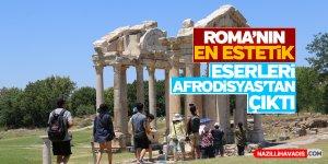Roma'nın en estetik eserleri Afrodisyas'tan çıktı