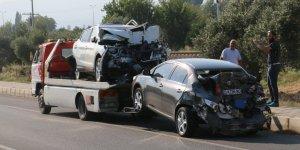 Kuyucak'ta feci kaza ; 1 ölü, 9 yaralı