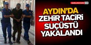 Aydın'da zehir taciri suçüstü yakalandı
