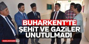 Buharkent'te şehit ve gaziler unutulmadı