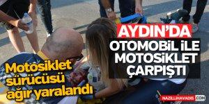 Aydın'da feci kaza; 1 ağır yaralı
