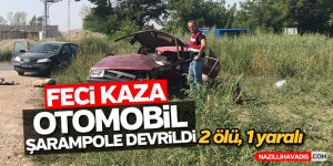 Feci kaza; 2 ölü, 1 yaralı