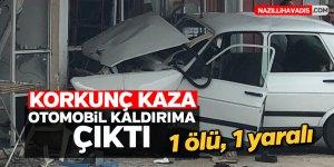Korkunç kaza; 1 ölü, 1 yaralı