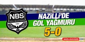 Nazilli'de gol yağmuru