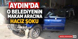 Aydın'da o belediyenin makam aracına haciz şoku