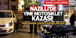 Nazilli'de trafik kazası: 1 ağır yaralı!