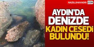 Aydın'da denizde kadın cesedi bulundu