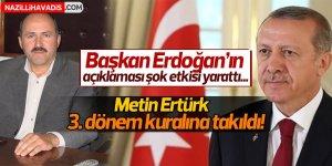 Ertürk aday yapılmayacak mı?