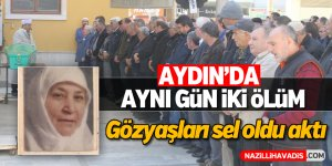 Aydın'da aynı gün iki ölüm