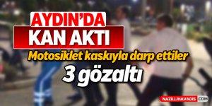 Aydın'da kavga; 2 yaralı