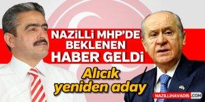 Nazilli MHP'de beklenen haber geldi