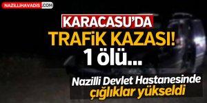 Karacasu'da trafik kazası