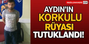 Aydın'da  hırsız zanlısı yakalandı!