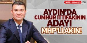 Cumhur İttifakının adayı MHP'li Akın!