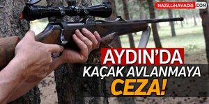 Aydın'da kaçak avlanmaya ceza!