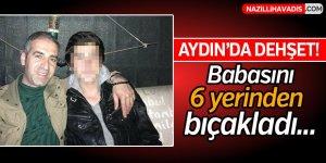 Aydın'da kooperatif müdürünü oğlu 6 yerinden bıçakladı