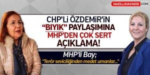 CHP'li Özdemir'in 'Bıyık' paylaşımına MHP'den çok sert açıklama!
