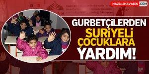 Gurbetçilerden Suriyeli Çocuklara Yardım!