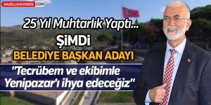 """Belediye başkan adayı Suat Menderes;""""Muhtarlık tecrübesiyle belediyeyi yöneteceğim"""""""