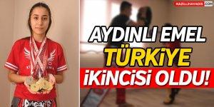 Aydınlı Emel Türkiye İkincisi Oldu!