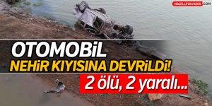 Büyük Menderes Nehri'nin Kıyısına Devrildi:2 ölü, 2 yaralı!