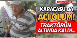 Karacasu'da Acı Ölüm!