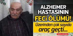 Alzheimer hastasının feci ölümü!