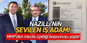 Nazilli'nin sevilen iş adamı MHP'den meclis üyeliği başvurusu yaptı!