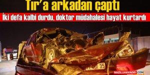 Atça'da korkutan kaza; 1 ağır yaralı