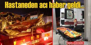 Sultanhisar'da otomobil tıra arkadan çarptı: 1 ölü